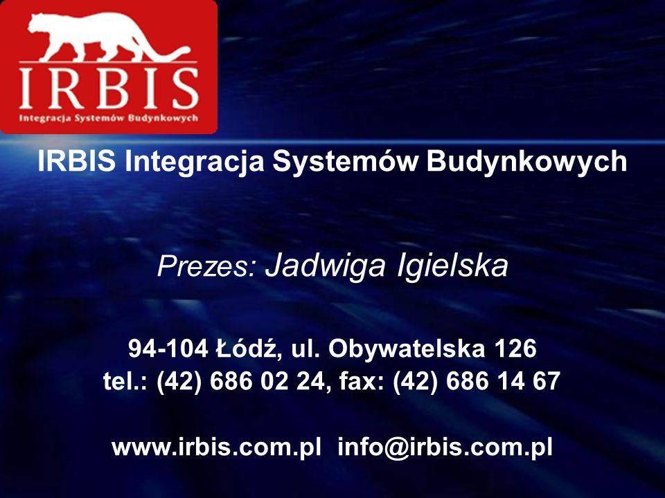 IRBIS Integracja Systemów Budynkowych