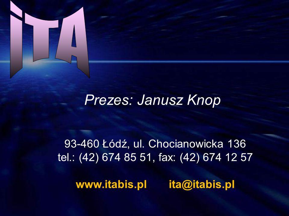 iTA Prezes: Janusz Knop