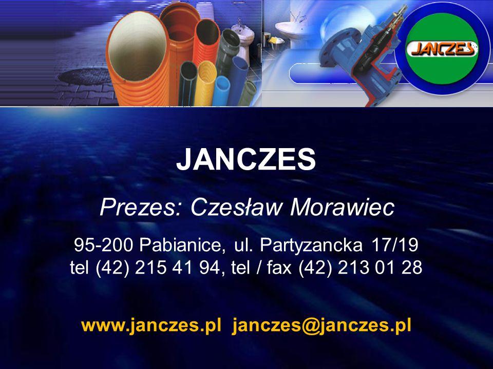JANCZES Prezes: Czesław Morawiec