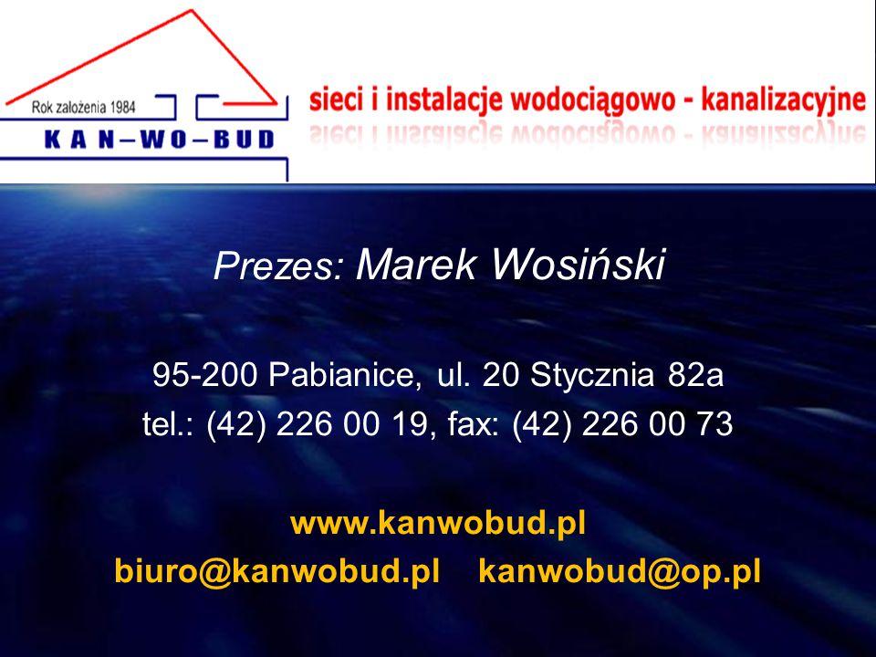 biuro@kanwobud.pl kanwobud@op.pl