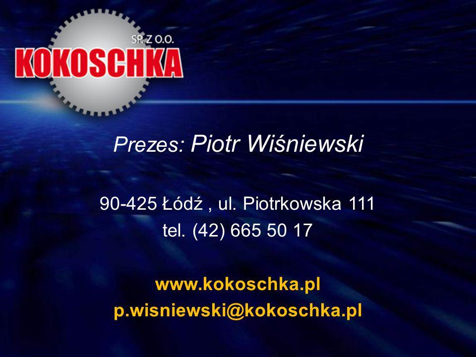 Prezes: Piotr Wiśniewski