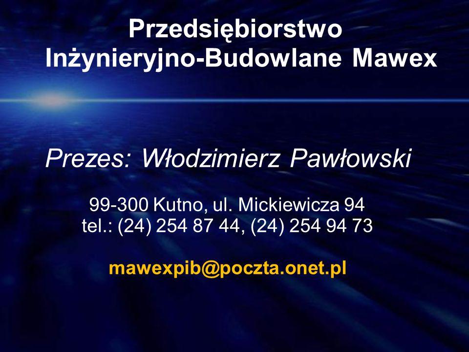 Przedsiębiorstwo Inżynieryjno-Budowlane Mawex