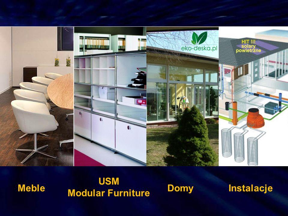 USM Modular Furniture Meble Domy Instalacje