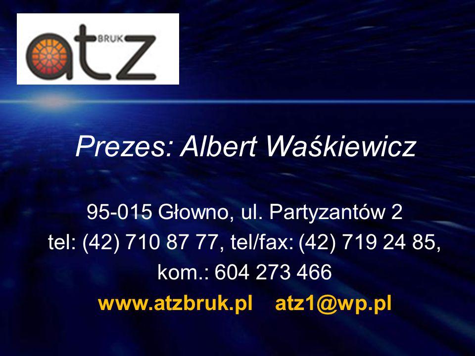 Prezes: Albert Waśkiewicz