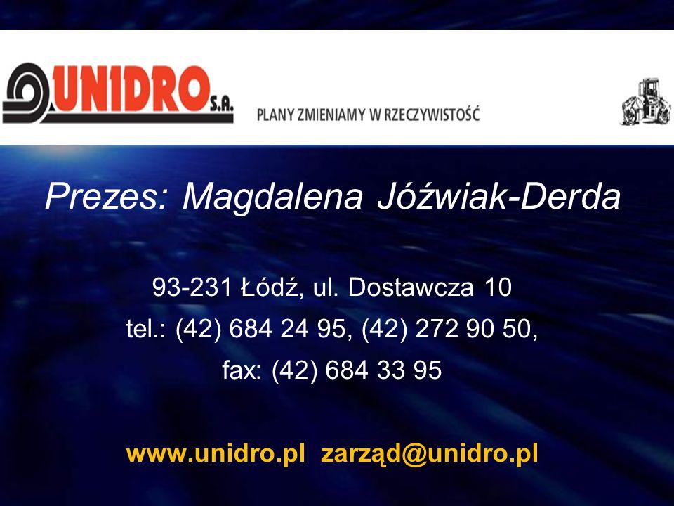 www.unidro.pl zarząd@unidro.pl