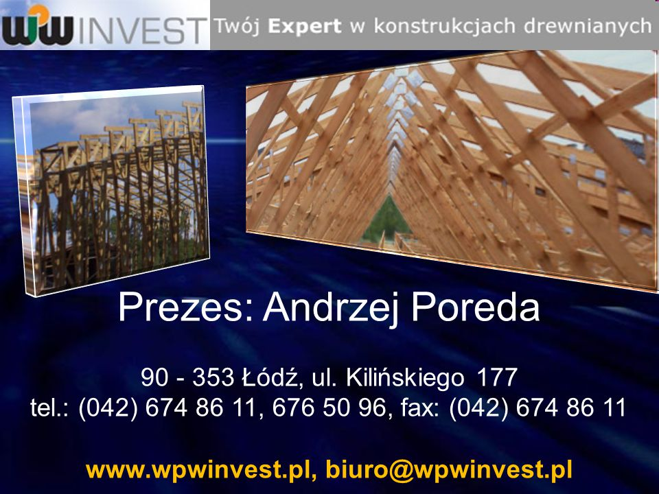 www.wpwinvest.pl, biuro@wpwinvest.pl
