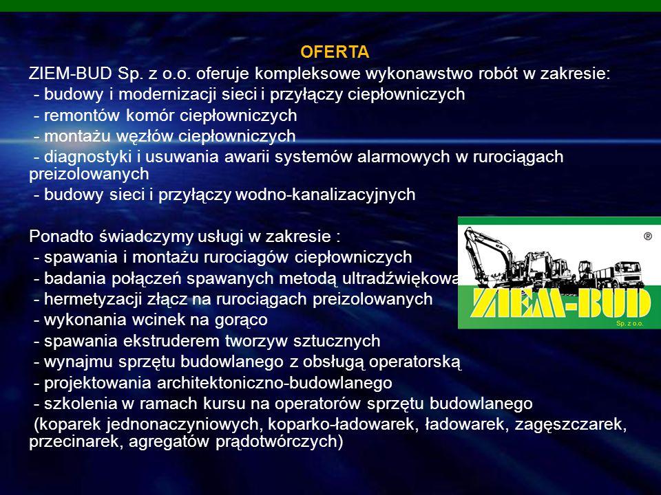OFERTA ZIEM-BUD Sp. z o.o.