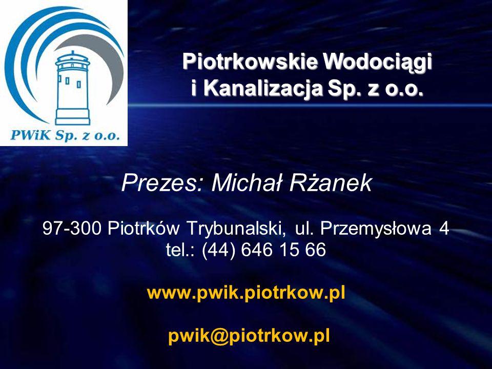 Piotrkowskie Wodociągi i Kanalizacja Sp. z o.o.