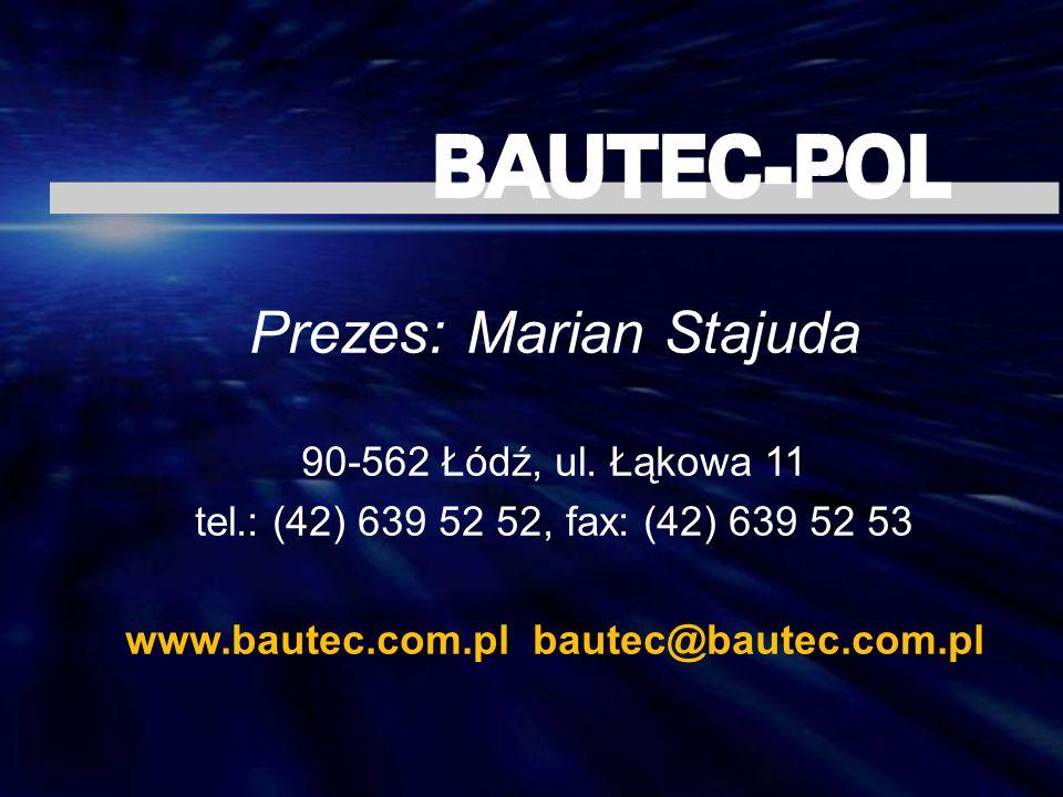 www.bautec.com.pl bautec@bautec.com.pl