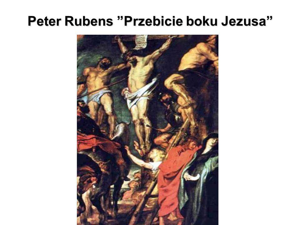 Peter Rubens Przebicie boku Jezusa