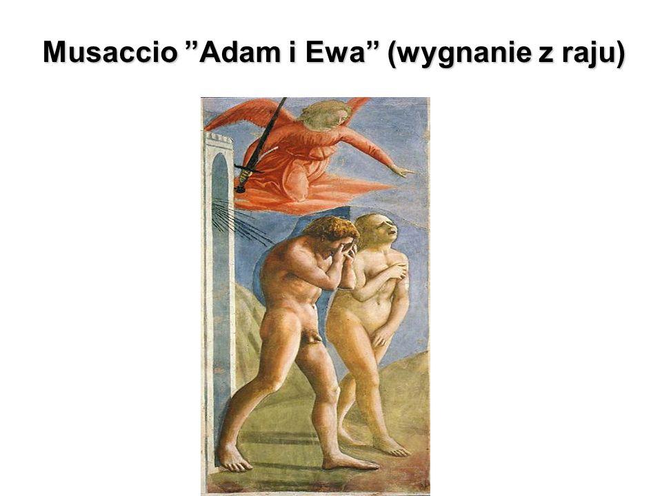 Musaccio Adam i Ewa (wygnanie z raju)