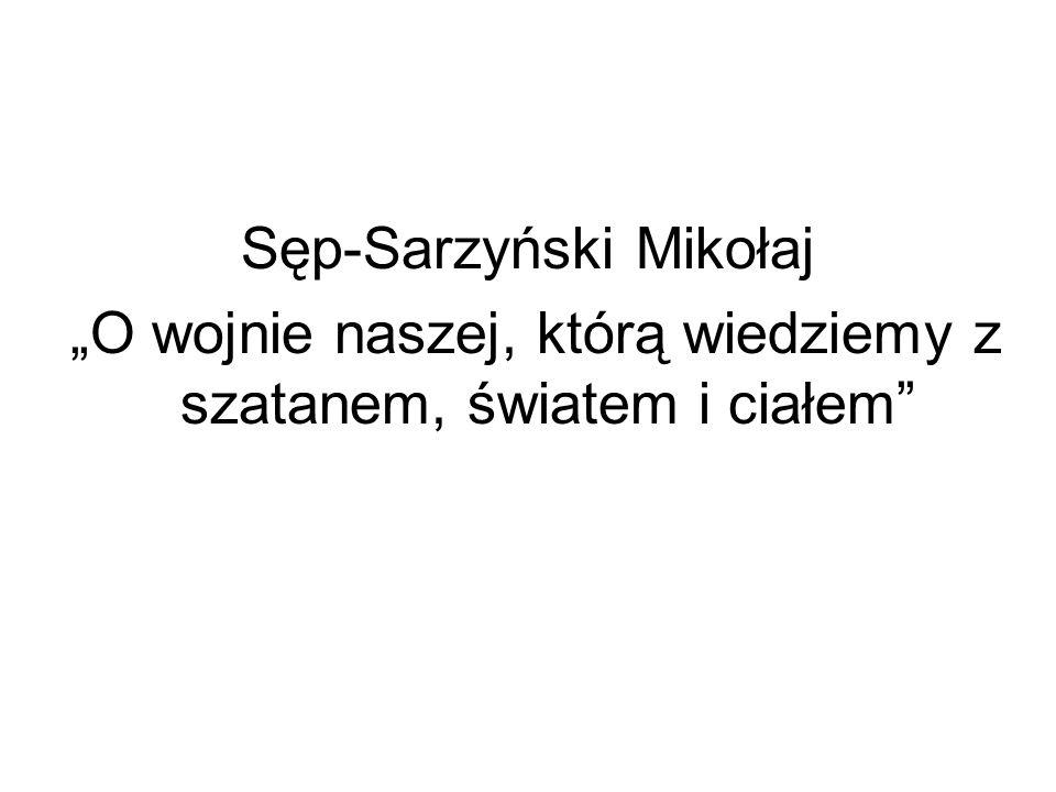 Sęp-Sarzyński Mikołaj