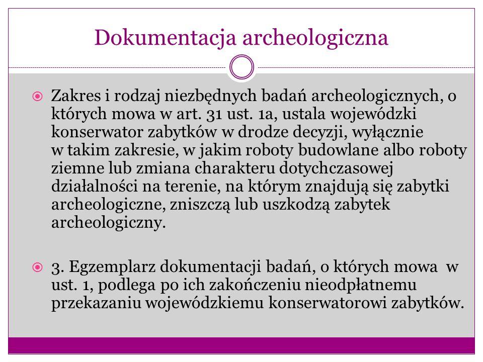 Dokumentacja archeologiczna
