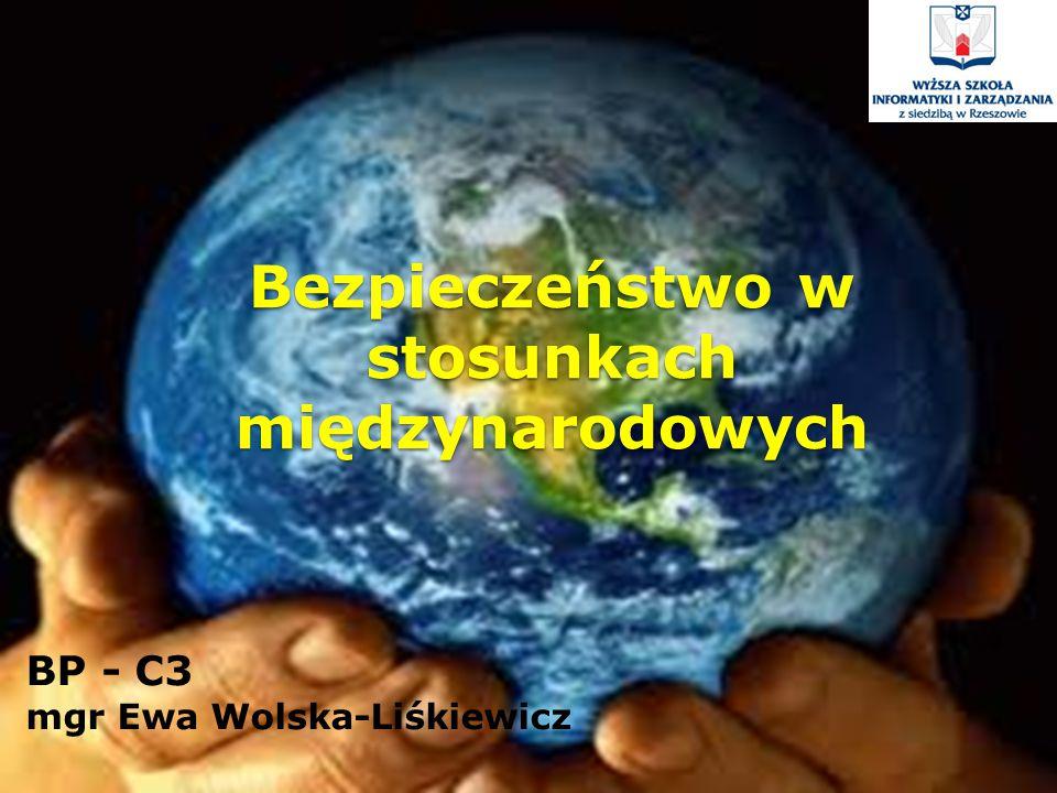 Bezpieczeństwo w stosunkach międzynarodowych