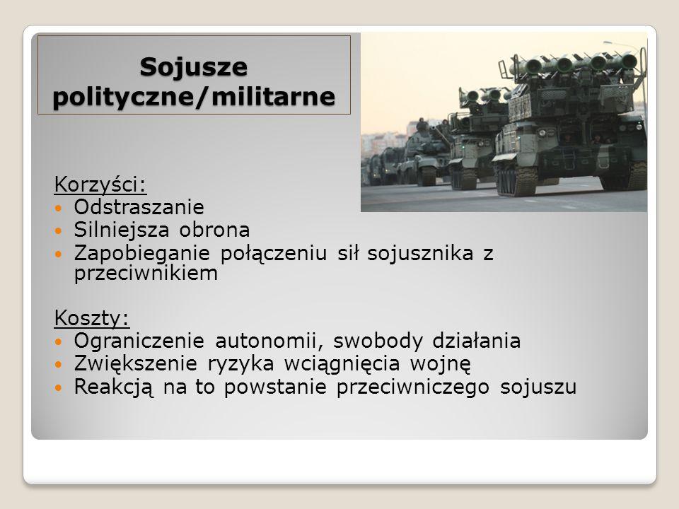 polityczne/militarne