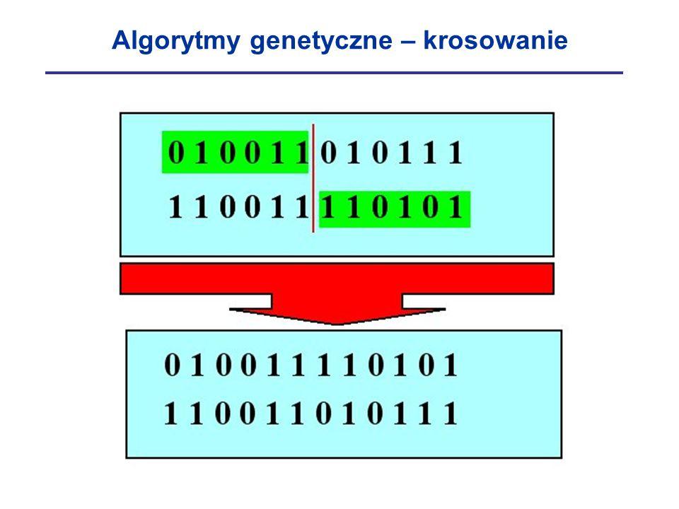 Algorytmy genetyczne – krosowanie