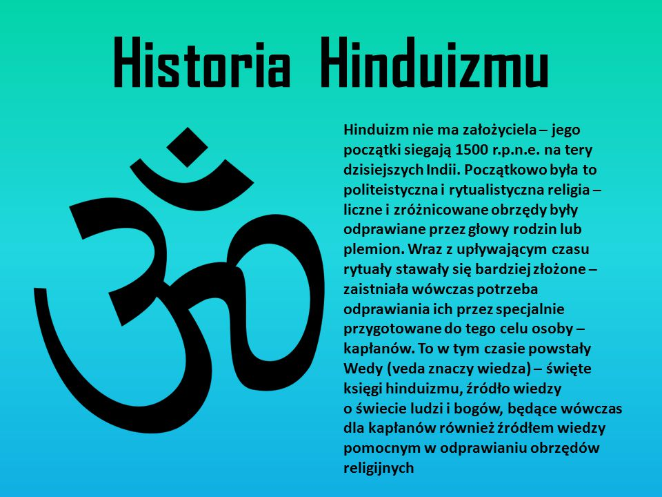 Historia Hinduizmu