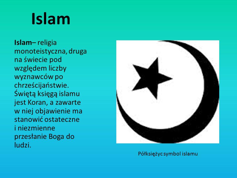 Półksiężyc symbol islamu