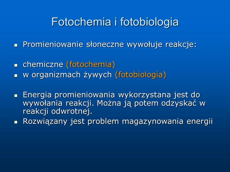 Fotochemia i fotobiologia