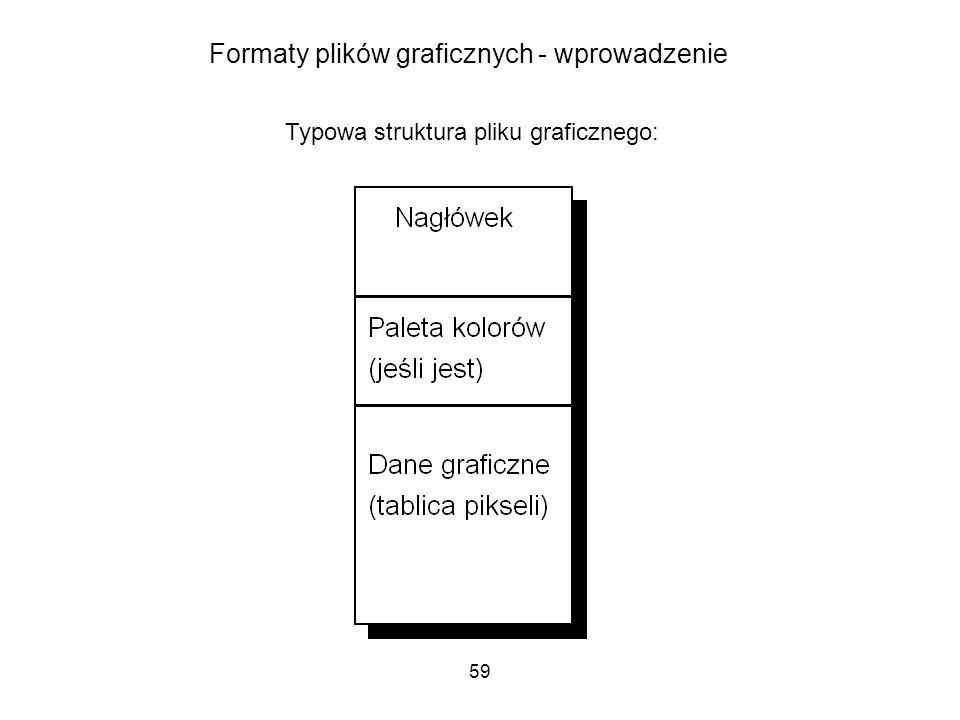 Formaty plików graficznych - wprowadzenie