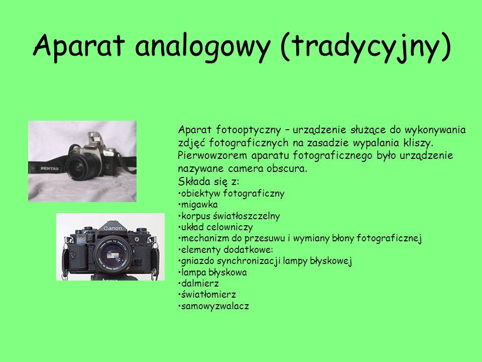 Aparat analogowy (tradycyjny)
