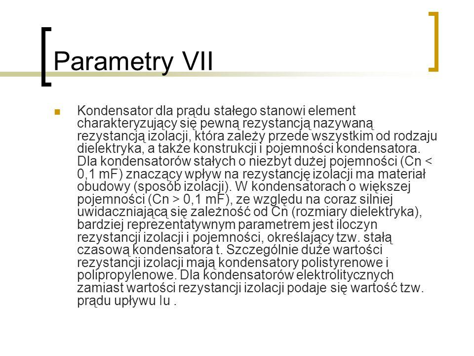 Parametry VII