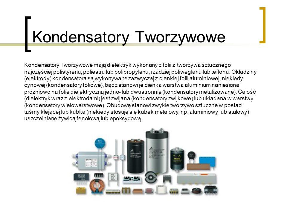 Kondensatory Tworzywowe