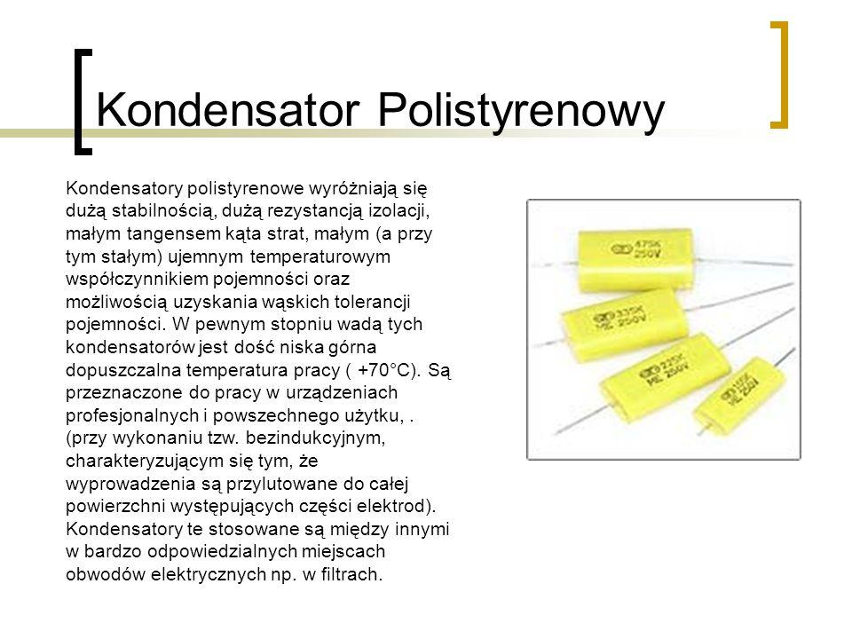 Kondensator Polistyrenowy