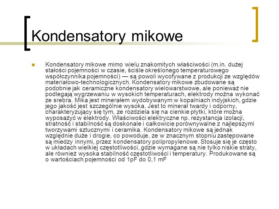 Kondensatory mikowe