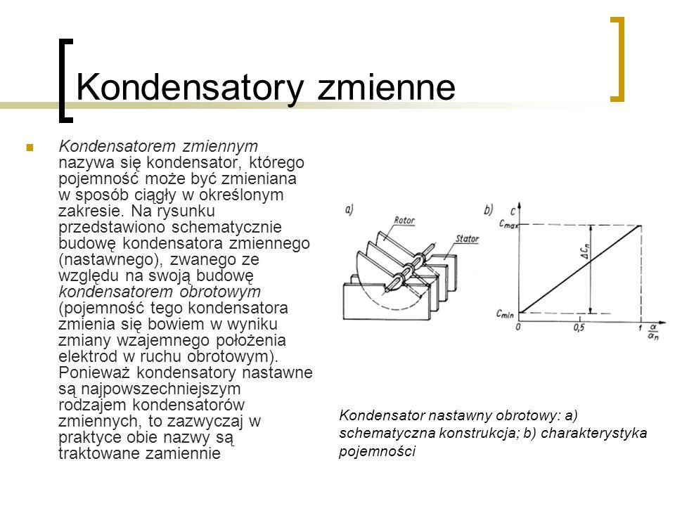 Kondensatory zmienne
