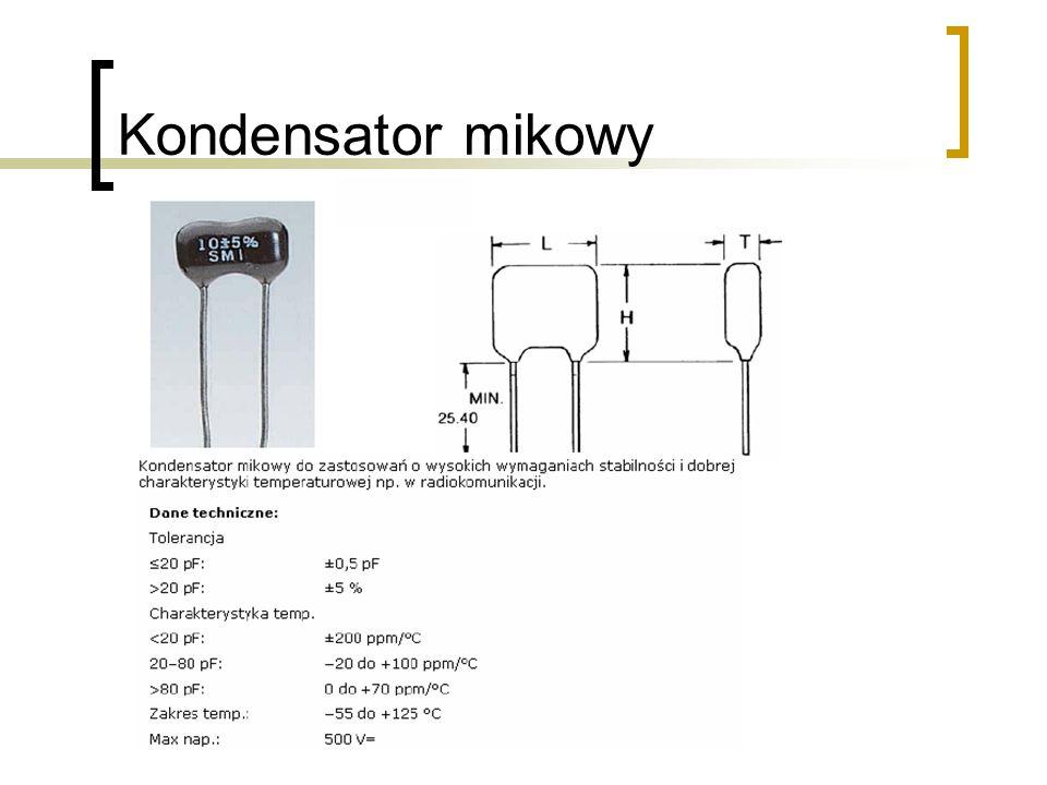 Kondensator mikowy