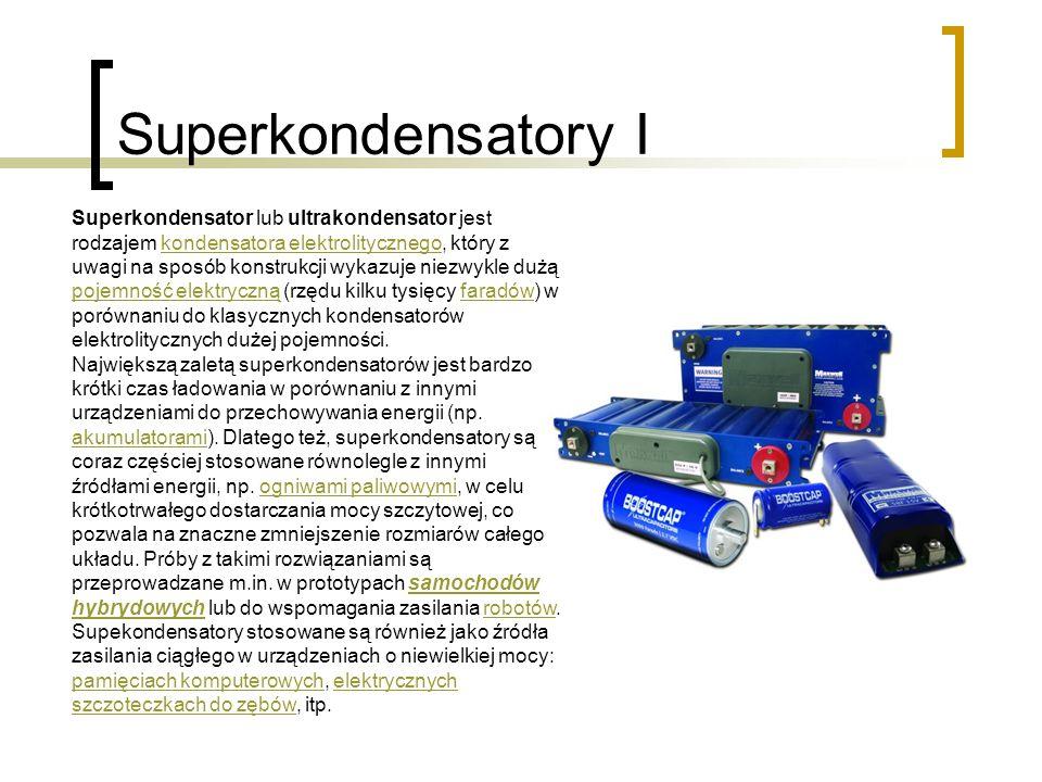 Superkondensatory I