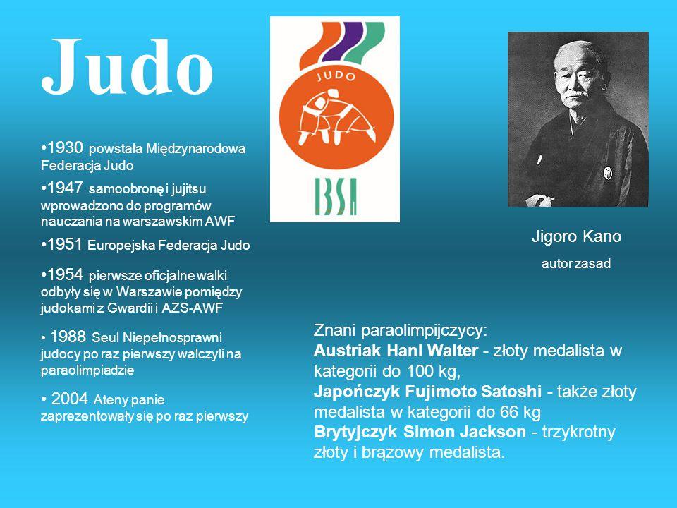 Judo 1930 powstała Międzynarodowa Federacja Judo