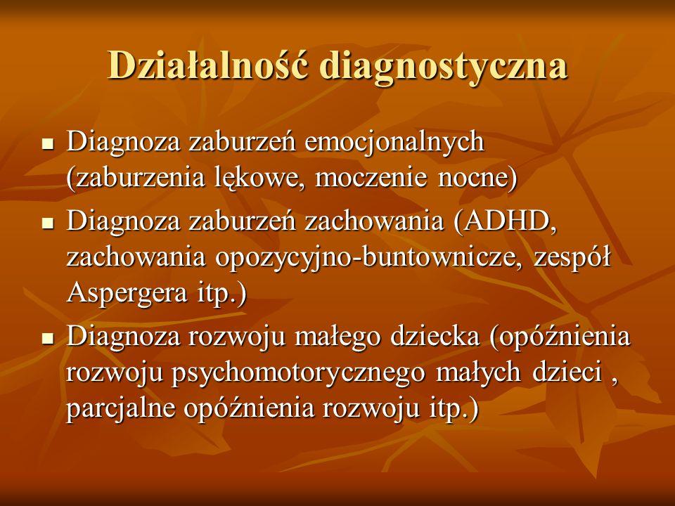 Działalność diagnostyczna