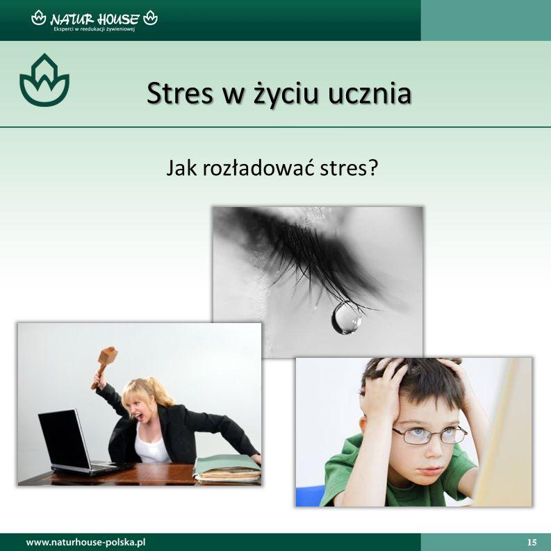 Stres w życiu ucznia Jak rozładować stres