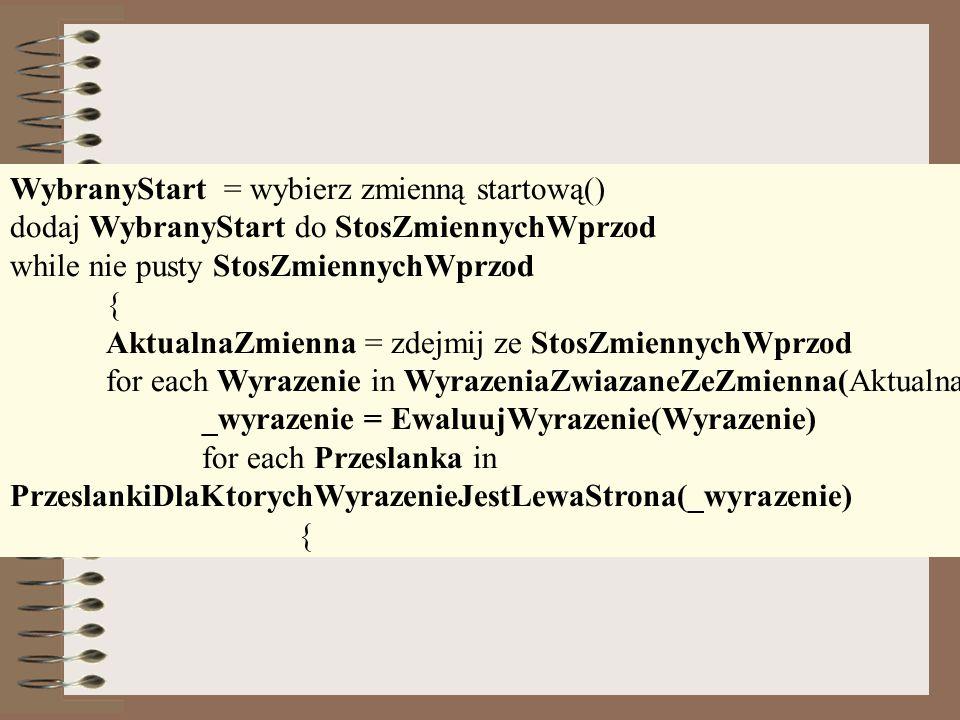 WybranyStart = wybierz zmienną startową()