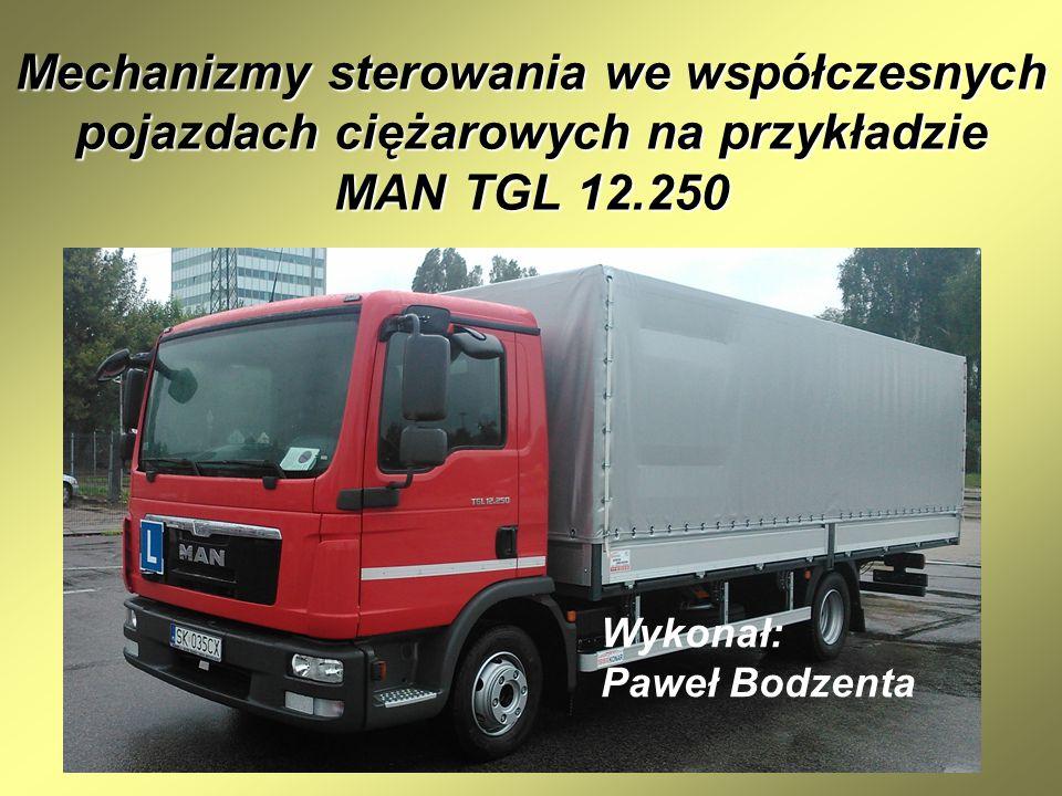 Mechanizmy sterowania we współczesnych pojazdach ciężarowych na przykładzie MAN TGL 12.250