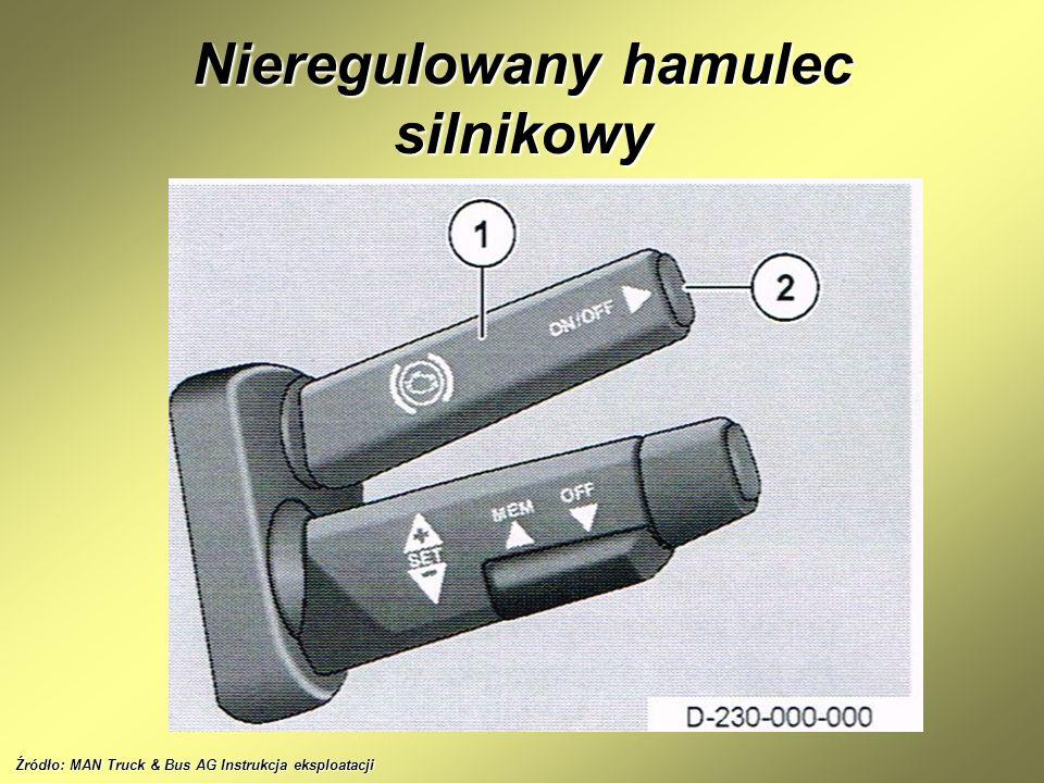 Nieregulowany hamulec silnikowy