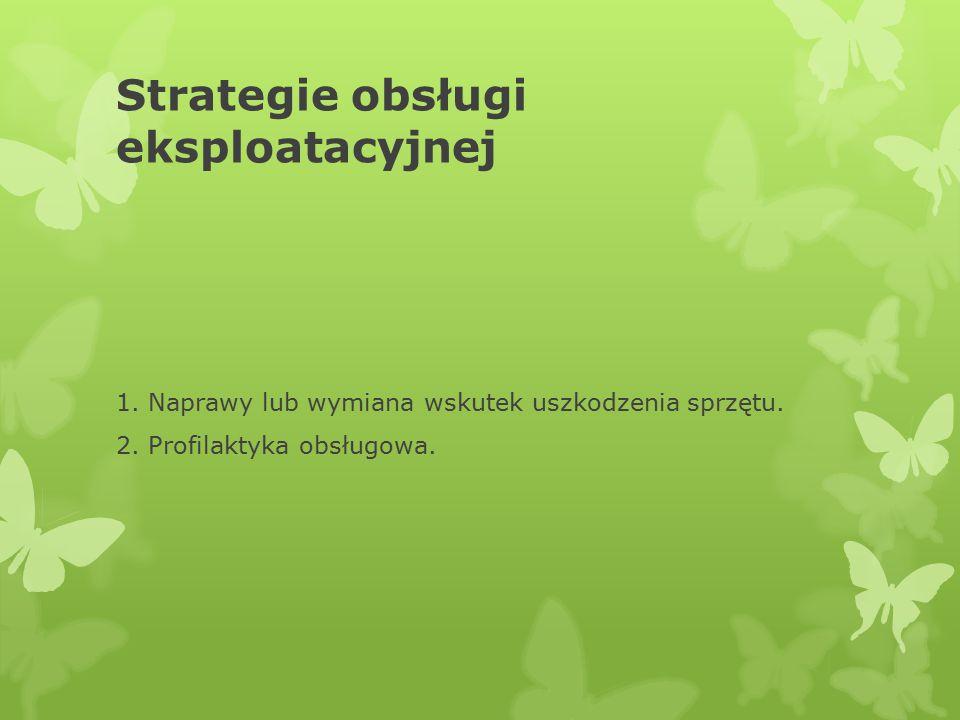 Strategie obsługi eksploatacyjnej