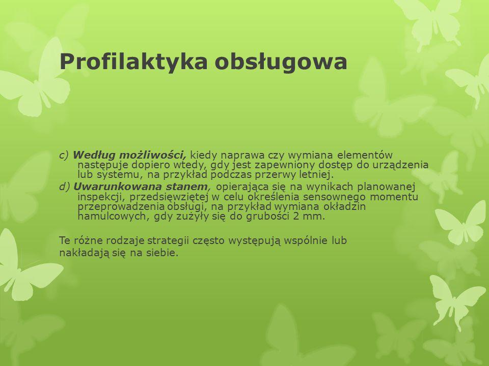 Profilaktyka obsługowa