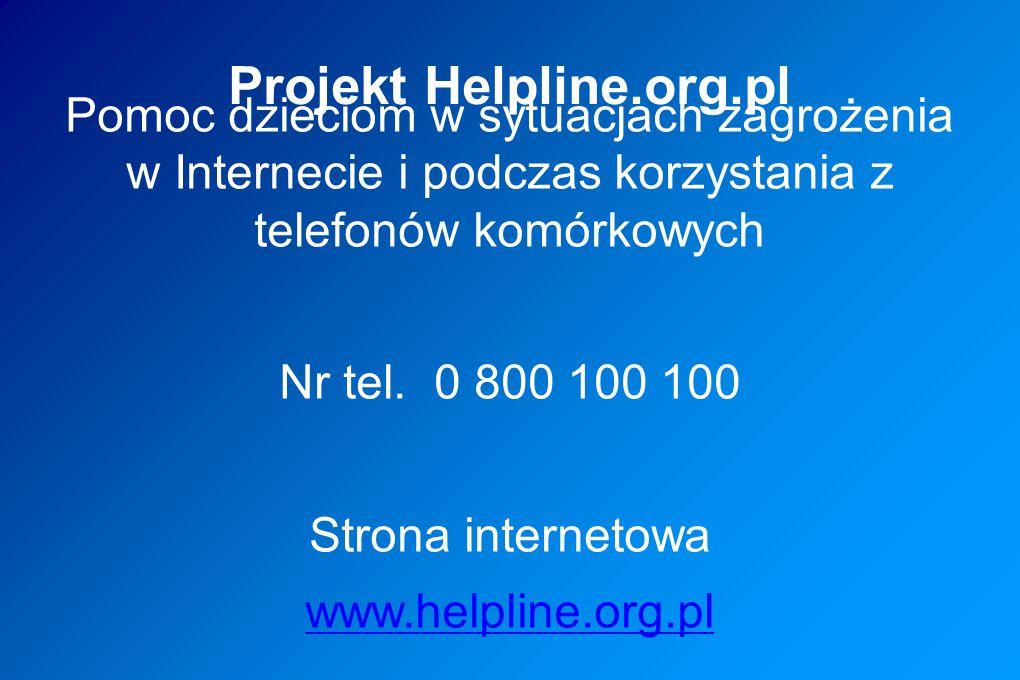 Projekt Helpline.org.pl