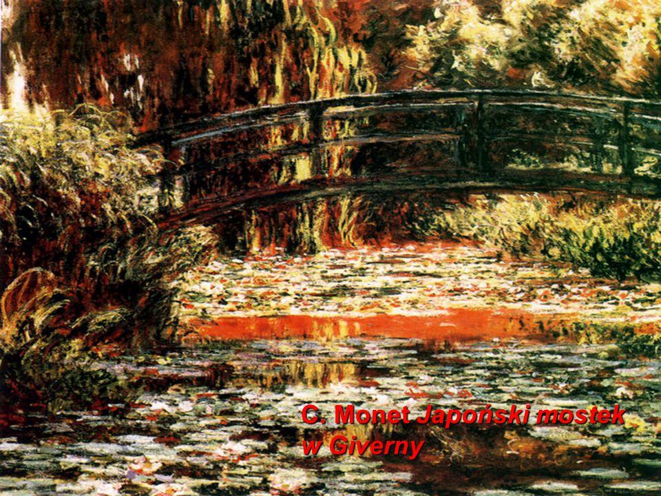 C. Monet Japoński mostek