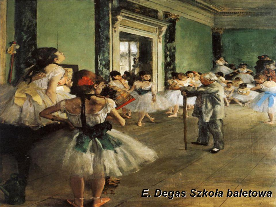 E. Degas Szkoła baletowa