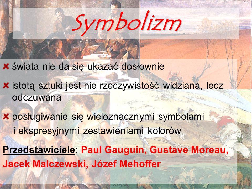 Symbolizm świata nie da się ukazać dosłownie