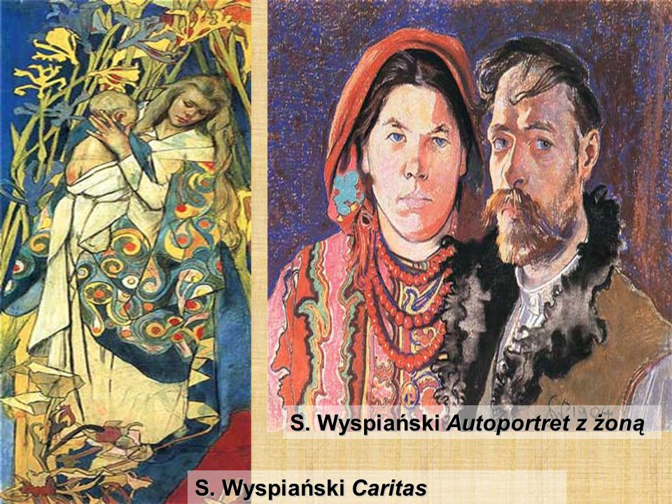 S. Wyspiański Autoportret z żoną