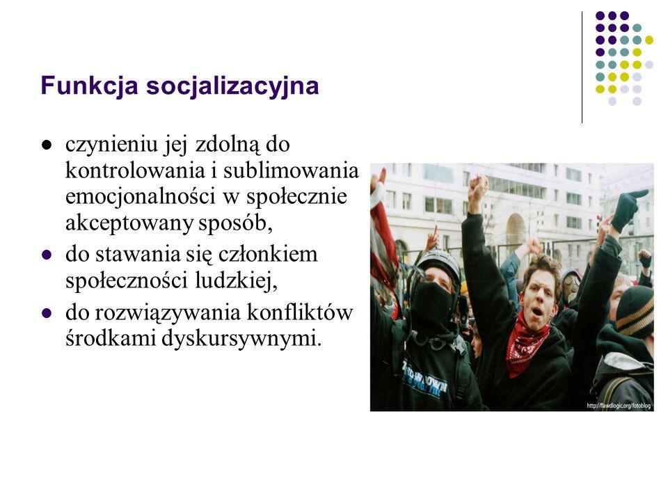 Funkcja socjalizacyjna