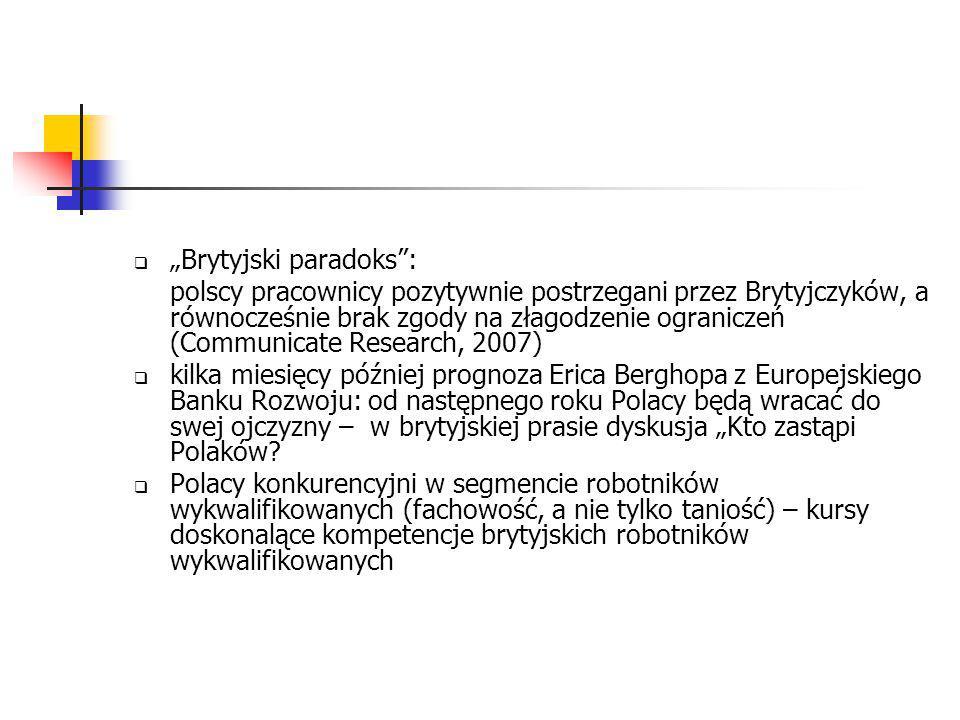 A bywa też tak ze stereotypami… polscy pracownicy w Wielkiej Brytanii