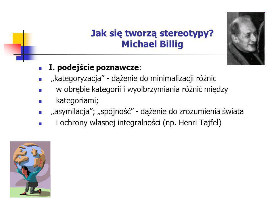 Jak się tworzą stereotypy Michael Billig