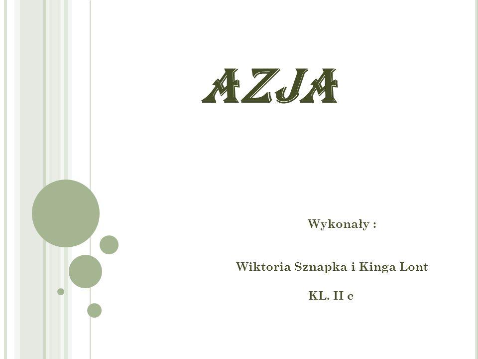 Wykonały : Wiktoria Sznapka i Kinga Lont KL. II c