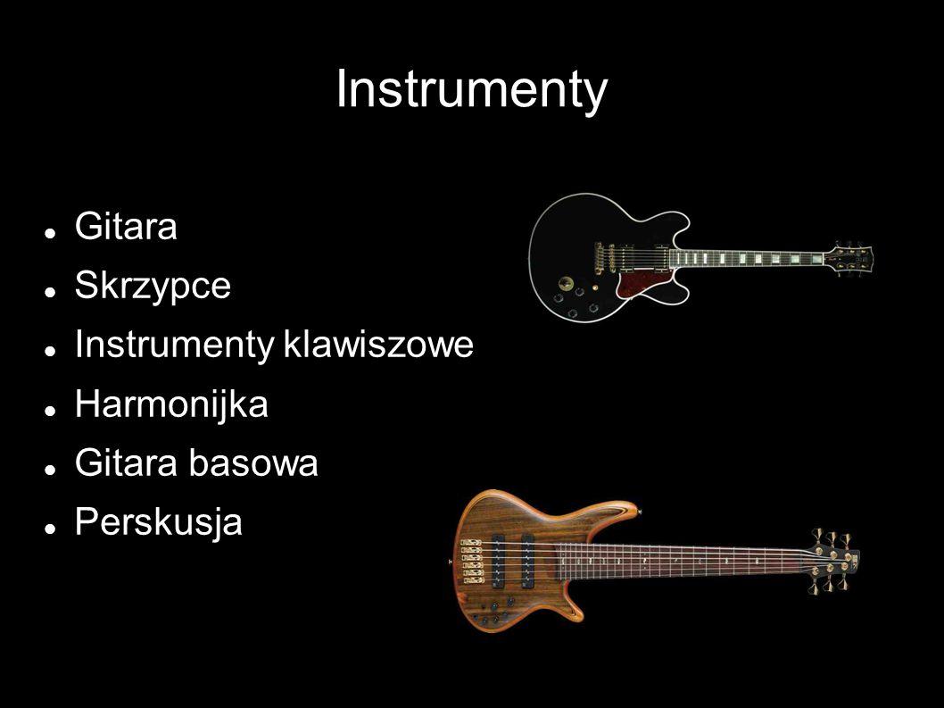 Instrumenty Gitara Skrzypce Instrumenty klawiszowe Harmonijka